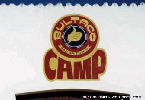 Logo del Bultaco Camp en San Antonio